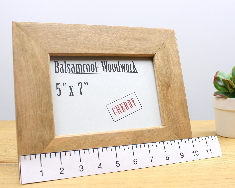 marco de madera de 5 x 7, marco moderno, marco de arte, marco de ...