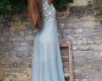 Irish Lace Crochet linen midi dress crochet dress Irish Lace dress midi dress linen dress Lace dress linen crochet dress midi lace dress
