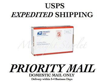 PRIORITY MAIL Add-On - Small Flat Rate Package for 1-3 Items- Delivery within 3-4 Business Days