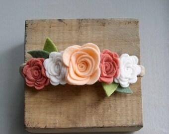 Flower Crown-Peach