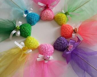 WEDDING  SOAP FAVOURS, Bridal shower favors, Handmade soaps, Rose  soaps, Heart shape soaps, Lollipop soaps, Rose soaps, Funny soap favours