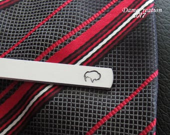 Buffalo Tie Clip, Buffalo New York. Buffalove, Buffalo Bills, Buffalo Gifts, Personalized Tie Clip, Custom Tie Bar, Groomsmen Gift