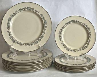 Lenox Plates, Lenox Promise, Dinner Plates, Lenox Salad Plates, Lenox China Plates, Dessert Plates, Lenox Ivory Plates, Lenox Platinum