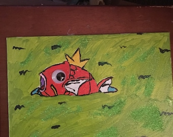 Magikarp Stuck in Water