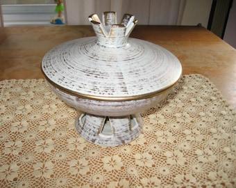Royal Haegar Lidded Pedestal Bowl