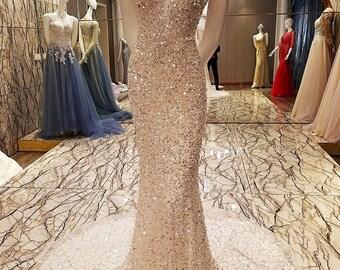 Evening Gown robe de soiree sirène
