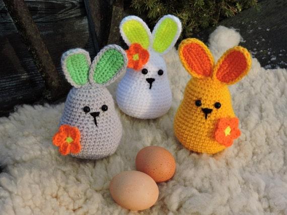 Amigurumi Rabbit Tutorial : Amigurumi crochet pattern easter bunny crochet rabbit e book