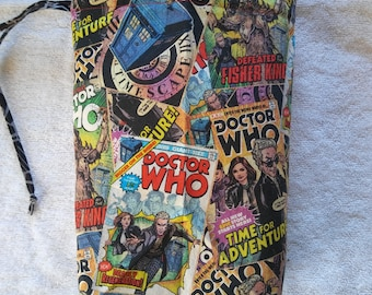 Knitting Project Bag - Doctor Who - 12th Doctor Comics