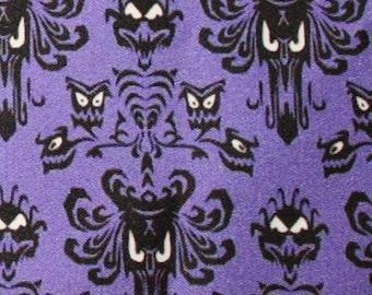 Haunted Mansion Wallpaper Inspired cotton poplin fabric