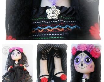 Doll Catrina 35 cm. Catrina Doll 13 ''