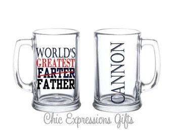 World's Greatest Farter beer mug