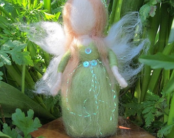 Needle Felted Waldorf inspired Fairy 'Odelia'