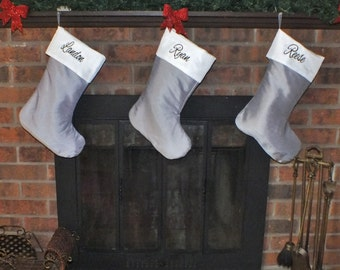 Colorful Christmas Stockings - Personalized Christmas Stockings - Christmas Stockings - Family Christmas Stockings - Stockings