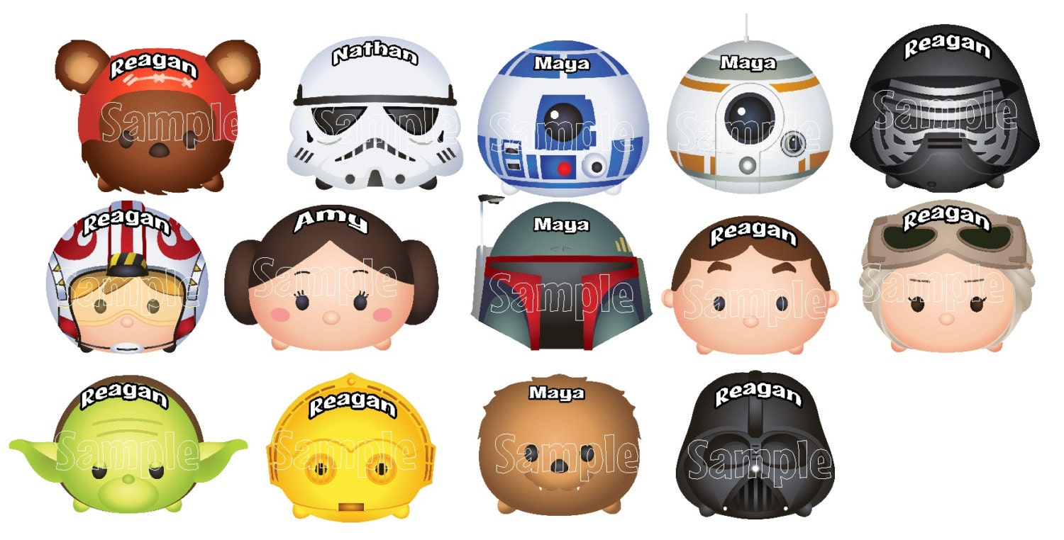 New Thicker Magnets Mickey Mouse Star Wars Tsum Tsum