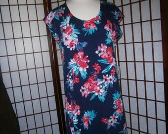 Women's Short Floral Dress