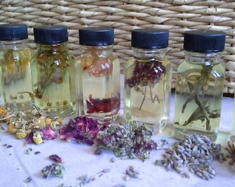 Seven Chakra Anointing Oils ~ choose any one!