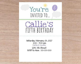 Birthday invitation girl, Birthday, Invitation, Girl, Birthday Invitations, Birthday Invitations for girl, Invitation Girl, Girls Invitation
