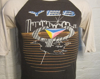 Size S (40) ** 1984 Yes Concert Shirt (Double Sided) **