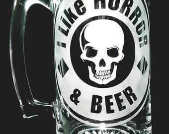 I like Horror and Beer Stein