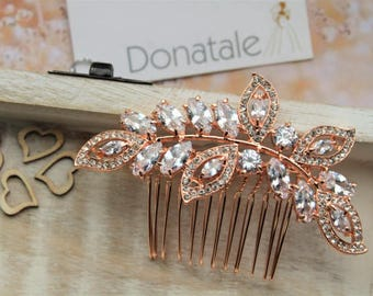 SALE  Crystal Hair Comb, Bridal hair Comb, Wedding headpiece, Wedding hair piece, Bridal headpiece , Bridal Accessories