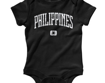 Baby Philippines One Piece - Infant Romper - NB 6M 12m 18m 24m - Filipino - 3 Colors