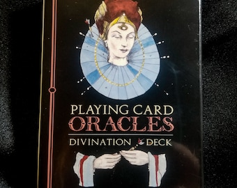 Oracles Playing Card Divination Deck Tarot Fortune Telling Wiccan Psychic Readings Foresight Sixth Sense