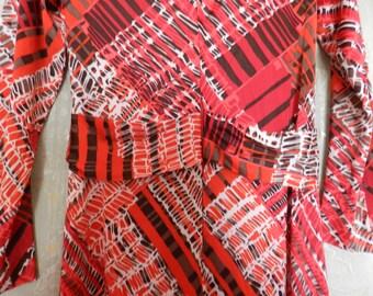 ITEM OF The WEEK - English Vintage Fashion - Cresta Long Dress - 1960's/1970's
