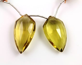 Natural brazilian whiskey topaz faceted fancy gemstone drop,25x14 mm, 1 Full Strand, (TPZW/FCY/25x14)