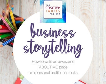 COPYWRITING GUIDE: How To Write An 'About Me' Page | Copywriting Workbook, Website Copywriting, Copywriting Advice, Business Profile Writing