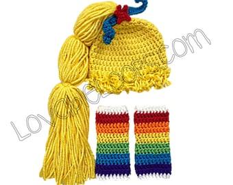 Rainbow Brite Halloween costume Rainbow Bright costume vintage hallmark 1980s 80s rainbow costume baby Sprite rainbow party baby girl dress