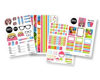 Planner Nerd 'Brights' Sticker Bundle