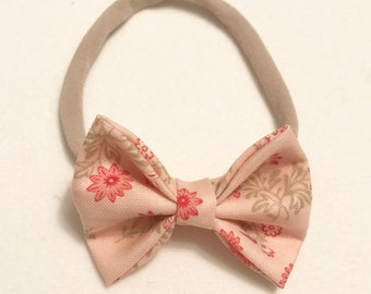 Country bow collection (Pink and green)