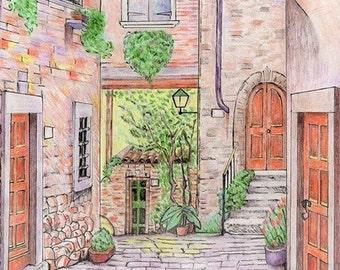 Notecards • Courtyard