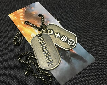 Battlefield 1 Limited Edition Dog tags