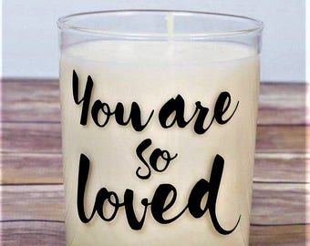 Soy Candle, Vegan Soy Wax Candle, Anniversary Gift, Gift For Her, Gift For Girlfriend, Romantic Gift Ideas, Wedding Gift, Meaningful Gift