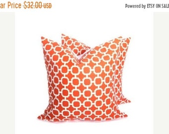 15% Off Sale Outdoor pillow Cover - Outdoor Pillow - Orange Pillow cover - orange Throw Pillow - pillow -  Housewares - Decorative Pillow -