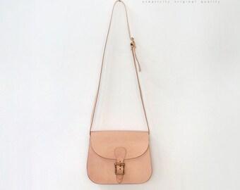 Handmade  Leather  Bag  shoulder bag women bag vintage bag