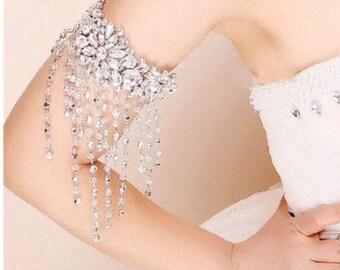 Wedding/Bridal Armlet-Tassel Armlet. WOW