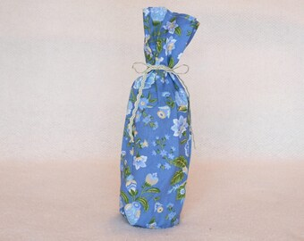 Lapis Blue Wine Bag