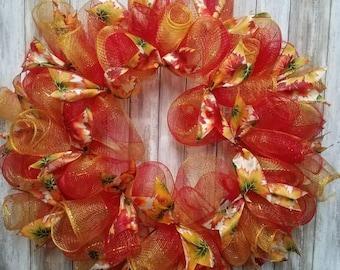 Leaves wreath