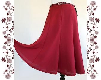 "1970's Vintage Deadstock NOS ""Claudia Moden"" Skirt"