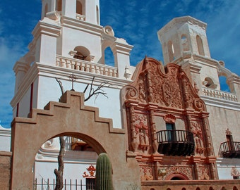 The White Dove of the Desert 4 - Mission San Xavier del Bac, Tucosn (vertical format)