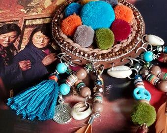 Necklace Bohemian catches dreams