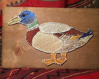 Duck Decoy String Art