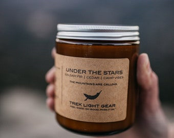 Under The Stars Candle