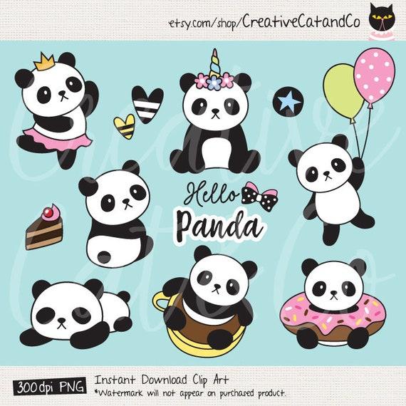Nice Panda Clipart Panda Clip Art Cute Panda Clipart Panda Unicorn