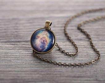 Nebula Necklace - Carina Nebula, Nebula Pendant- Galaxy Series