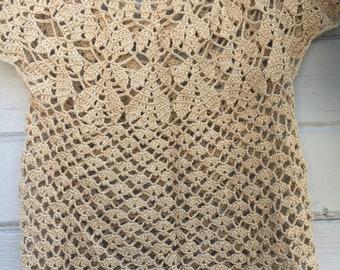 Woman's crochet top