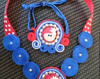 necklace and bracelet for girls
