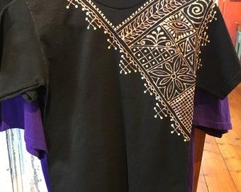 XS Black Henna Shirt